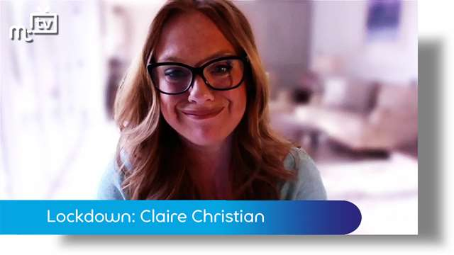 Preview of - Coronavirus lockdown: Claire Christian