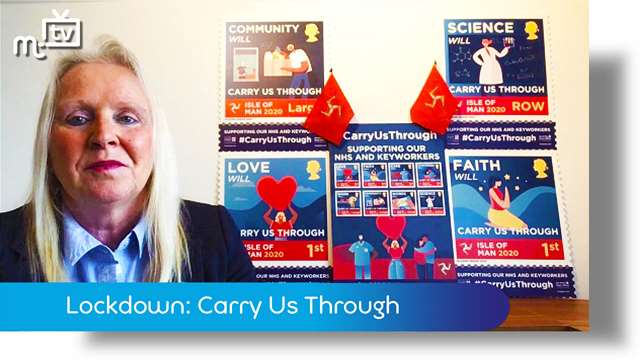 Preview of - Coronavirus lockdown: Carry Us Through stamp release