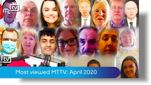 Preview of - Most viewed MTTV videos manx.net April 2020