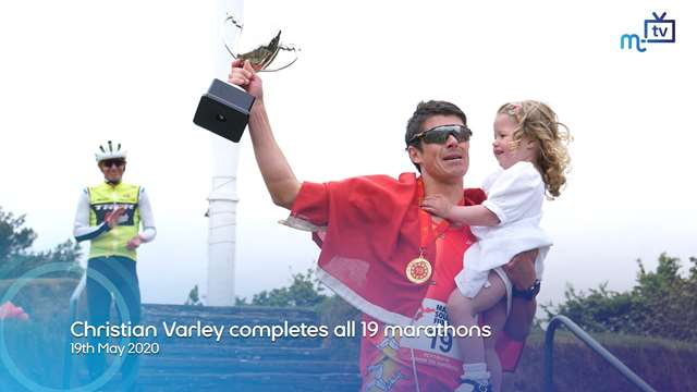 Preview of - Christian Varley completes all 19 marathons