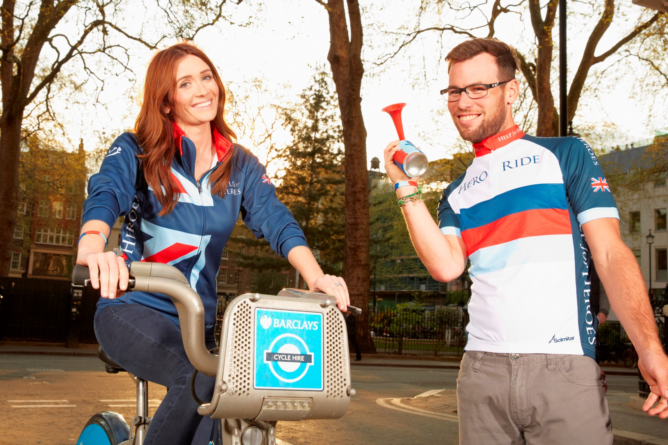 Mark And Peta Cavendish Sign Up To Hero Ride 2014