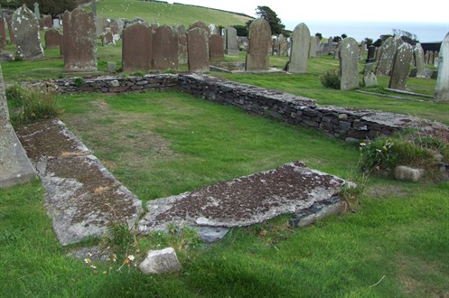 Keeill In Maughold Churchyard