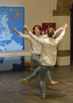 Manx Dancers Grainne Joughin And Ali Carroon (credit Jiri Podobsky )b