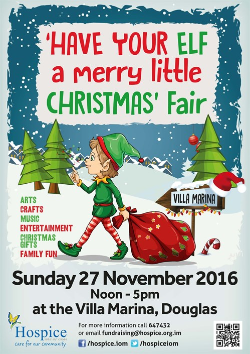 Hospice _Christmas Elf Fair 2016A4Poster _HI