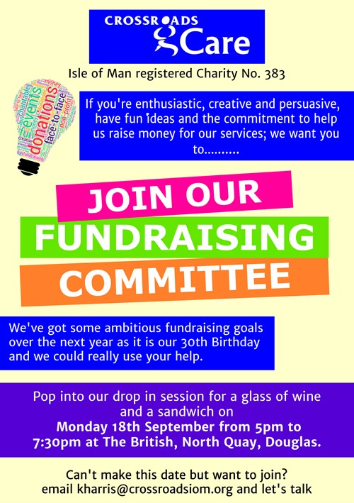Fundraising Committee Flyer